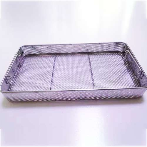 Custom 304 Stainless Steel Medical Disinfection Basket