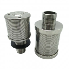 Stainless Steel Single Filter Nozzle