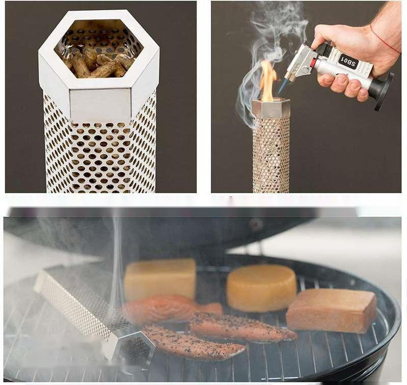 How to use the Pellet Smoker Tube