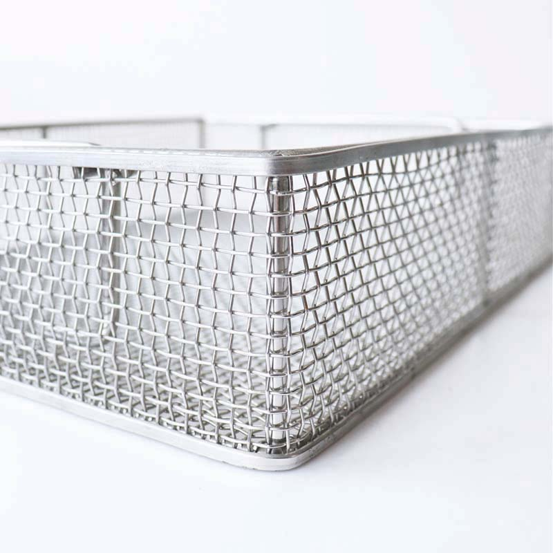 Medical Sterilization wire mesh Basket