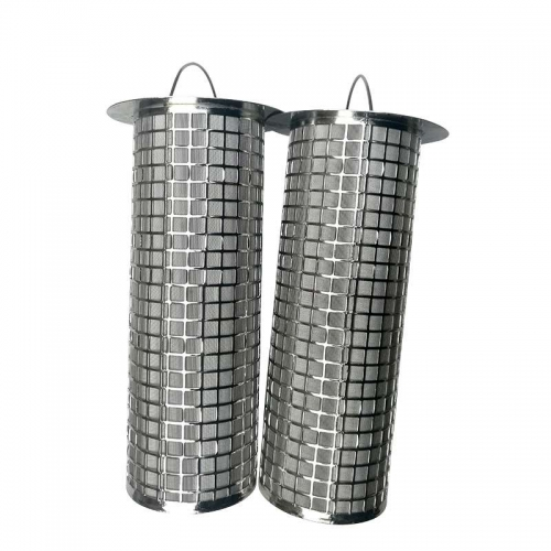 Basket Wire Mesh Filter