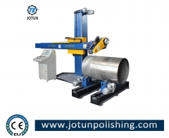 Metal shell polishing machine for stainless steel