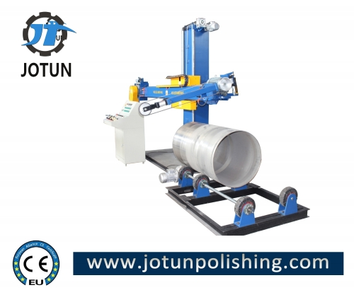 Automatic tank surface grinding sanding machine