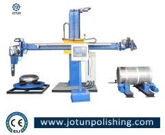 Full-automatic CNC stainless steel surface polishing machine
