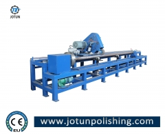 Tube pipe inside polishing machine