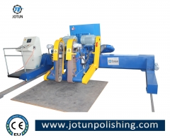 Stainless steel sheet and plate surface grinding buffing machine