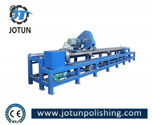 Stainless steel round pipe surface polishing buffing machine