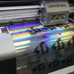 Printable holographic film
