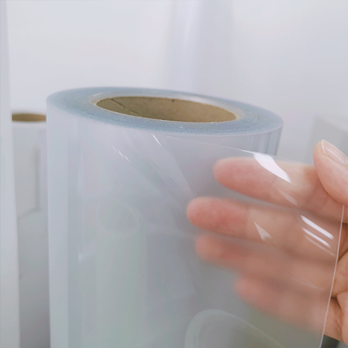 Printable optically clear adhesive film