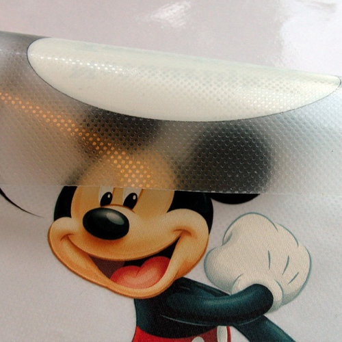 Pintable easy dot self-adhesive vinyl