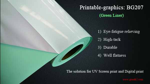 Green Liner Self Adhesive Vinyl