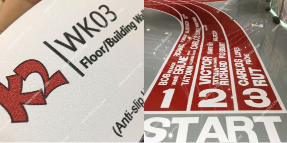 Floor Graphics vinyl-WK03