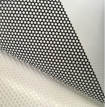 Reflective Perforated Vinyl