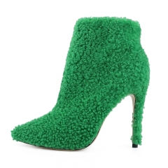Green Shearling