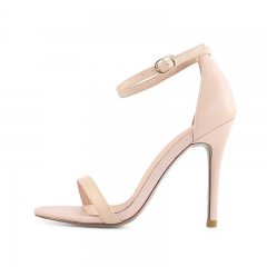 Winni Nude Cow Leather Sandals