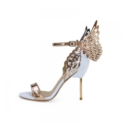 Elaine Gold Wings Sandals