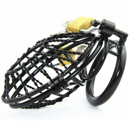 MOG New CB black metal chastity lock