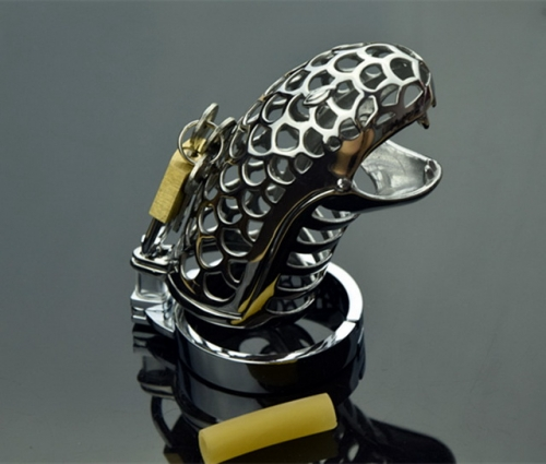MOG Male chastity with stainless steel serpentine device