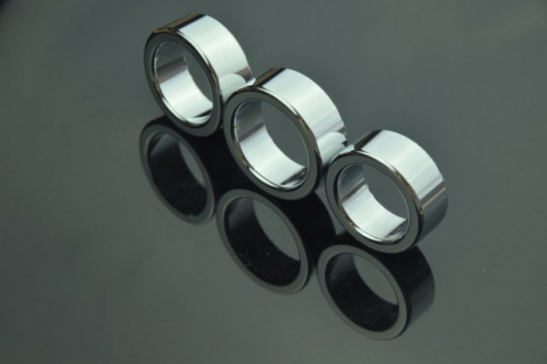 MOG Stainless steel fun delay ring