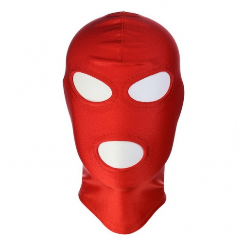 MOG Adult Leather Sex Head Mask Slave SM Bondage Erotic Headgear
