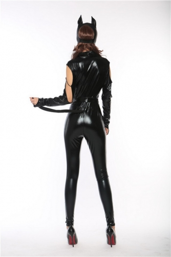 MOG Black Tight Cat Girl Costume