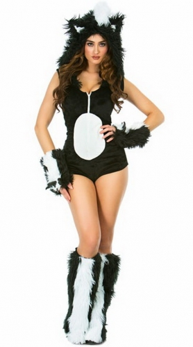 MOG Skunk cosplay women's uniform