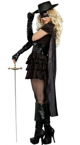 MOG New Zorro Pirate Costume Seduction Cosplay