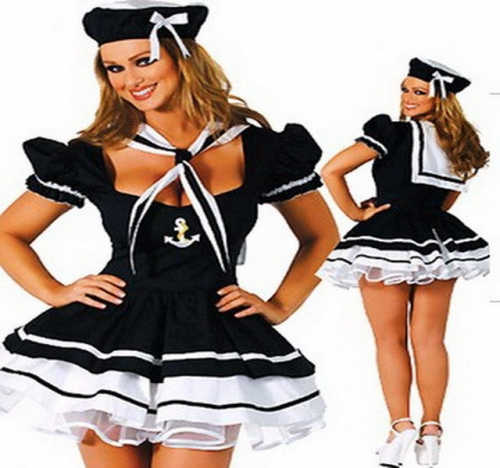 MOG Sailor navy student uniform cosplay