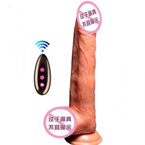MOG Female masturbation wireless telescopic penis