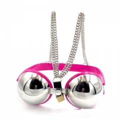 MOG New stainless steel breasts bra