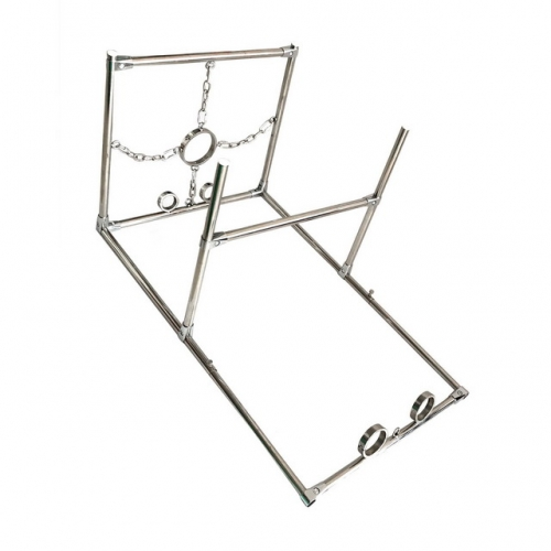 MOG New restraint frame stainless steel fetters kneeling device