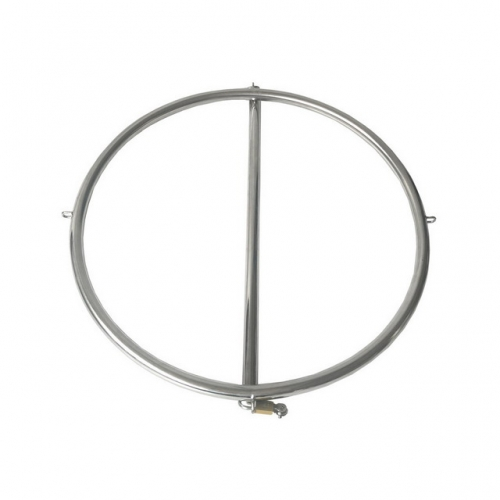 MOG Stainless steel tortoise lock hip buttocks with circular restraint