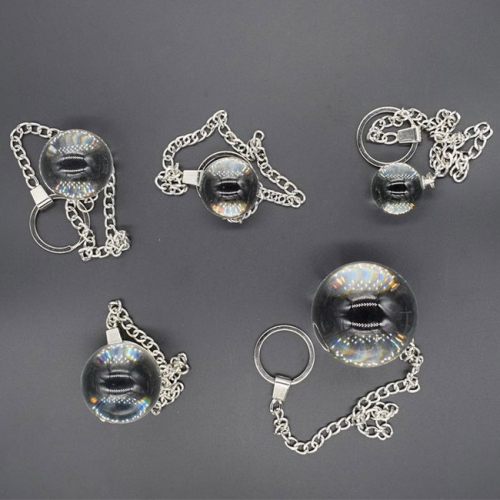 MOG Glass female adult hypnotic crystal ball backyard pull beads