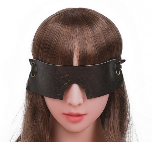 MOG Vintage adult products full cover blindfold bundle bondage with alternative vintage toy cowhide blindfold