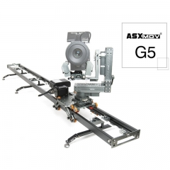 ASXMOV G5 aluminum connectable video film stabilizer dslr video dolly track rail system motorized camera slider for DV camcorder