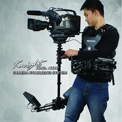 MOVCAM Knight D202 DSLR steadicam load 25lbs / 11kg Stabilizer Sled + Arm + Vest Steadicam Stabilizer dslr