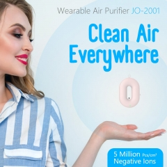 CineGrip Portable Personal Necklace Wearable Air Purifier