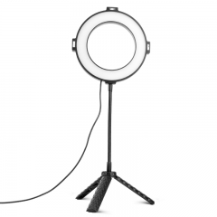 Webcast Live Gear-LED Ring Light+Short Stand