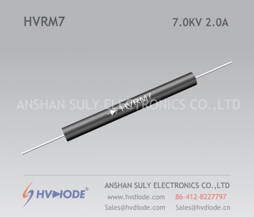 HVDIODE genuine HVRM7 low frequency high voltage diode 2A7KV glass blunt chip