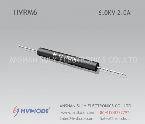 Military quality HVRM6 high voltage diode 6KV2A low frequency glass blunt chip HVDIODE genuine