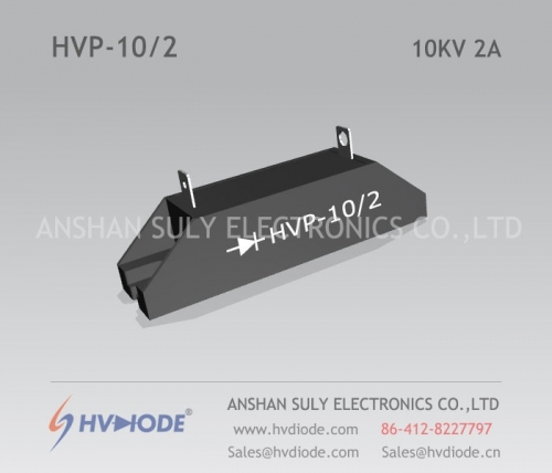 HVP-10 / 2 High Voltage Silicon Stack HVDIODE Genuine Hot Sale