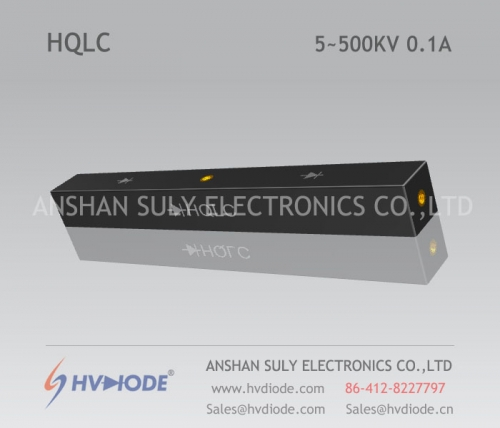 HVDIODE manufacturers produce genuine good goods HQLC5 ~ 500KV / 0.1A high voltage half bridge silicon stack power frequency