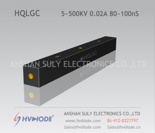 HVDIODE authentic HQLGC5 ~ 500KV / 0.02A high voltage half-bridge silicon stack 80 ~ 100nS high frequency response
