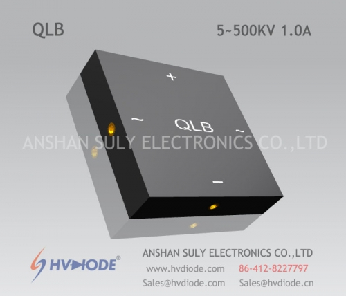 Genuine good goods QL5 ~ 500KV / 1.0A high voltage single phase full bridge power frequency HVDIODE manufacturers