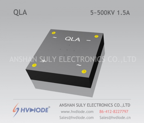 Military quality single-phase high-voltage full-bridge QL5 ~ 500KV / 1.5A high temperature chip HVDIODE manufacturer