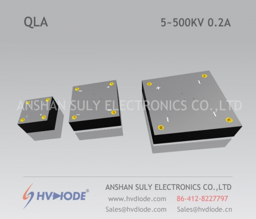 Military product control HVDIODE manufacturers produce power frequency QL5 ~ 500KV / 0.2A high voltage full bridge