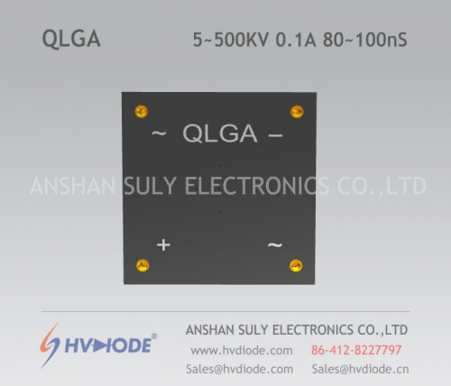 HVDIODE manufacturers produce genuine good goods QLG5 ~ 500KV / 0.1A high frequency 80 ~ 100nS QLG5~500KV/0.1A high voltage full bridge