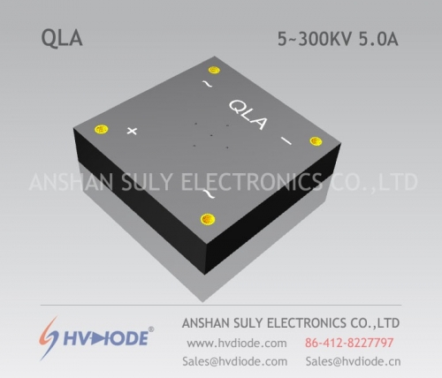 HVDIODE manufacturers produce genuine good goods QL5 ~ 300KV / 5.0A high voltage full bridge power frequency