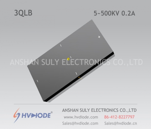 Military product control HVDIODE manufacturers produce power frequency 3QL5 ~ 500KV / 0.2A high voltage three-phase bridge
