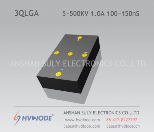 Genuine good goods 3QLG5 ~ 500KV / 1.0A high frequency 100 ~ 150nS high voltage three-phase bridge HVDIODE manufacturers